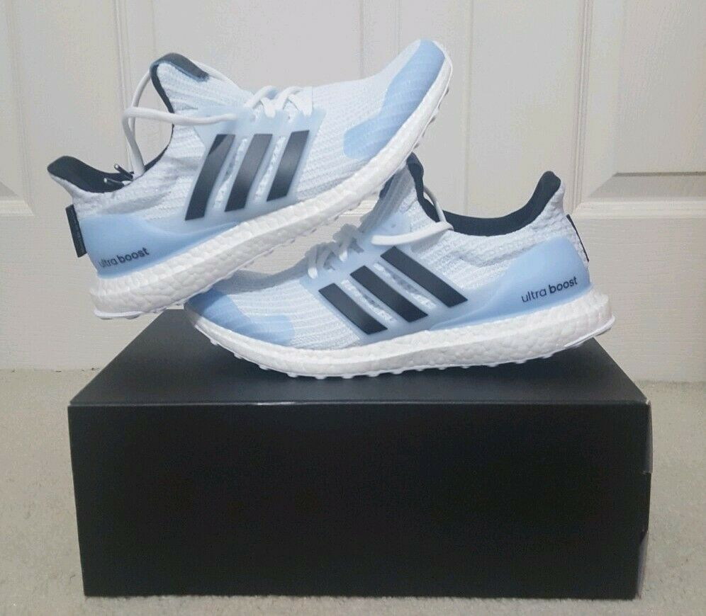 new concept 28076 a7ab7 Adidas Ultra Boost 4.0 x Game of Thrones White Walker Men s Size 9.5