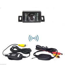 170° Car Wireless Rear View Reverse Backup License Plate Camera IR Night Vision