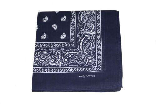 Paisley Design Fancy Bandanna Scarf Cloth Square Shape Print Trendy Cool Smart