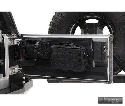 SmittyBilt GEAR Tailgate Cover-Black Fits Jeep 07-17 Wrangler (JK)-2/4 Door