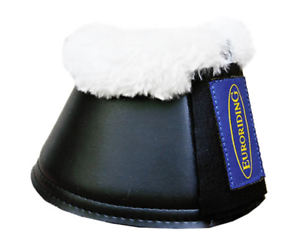 /%/% euroriding Saut Cloches Cloches Caoutchouc fellrand S-XXL/%/%