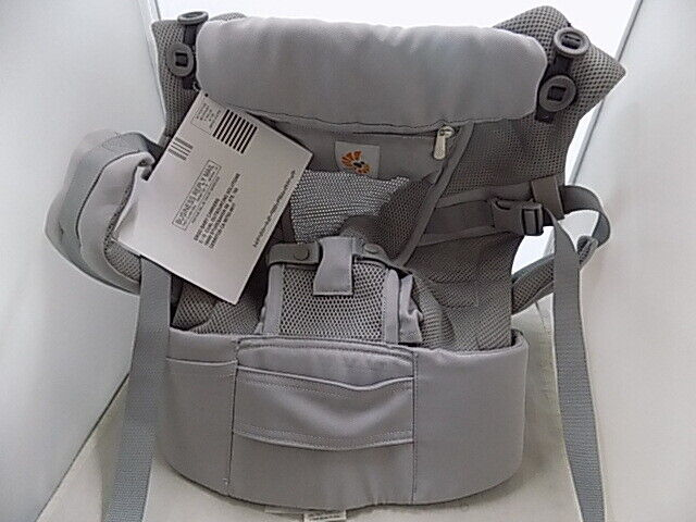 Ergobaby Adapt 3 Position Infant Child Baby Carrier Cool Air Mesh Pearl Grey