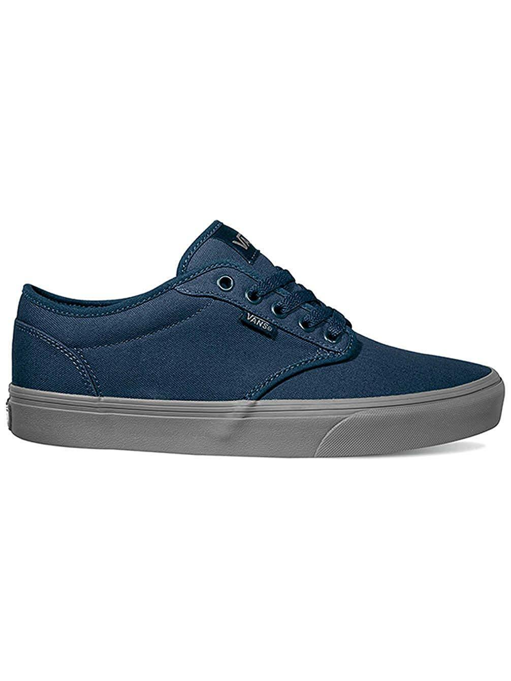 Vans Atwood (Check Liner) Dress Bleu Homme Skate Chaussures 6.5 Femme 8 BleuS NEW NIB