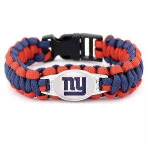 Ny Giants Survival Bracelet Ebay