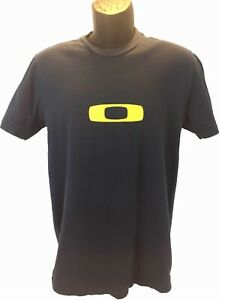 Oakley-Mens-Shirt-Cotton-Basic-Tee-Sports-SlimFit-Active-Wear-Regular-Fit-M