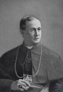 REVEREND-WILLIAM-GROSS-Archbishop-of-Oregon-City-Portrait-1889-Antique-Print