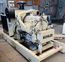 175 Kw Kohler Standby Generator Detroit Diesel Engine 1998