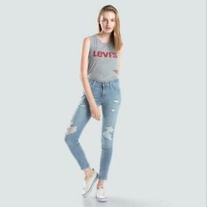 New-Levi-039-s-Women-039-s-711-Skinny-Jeans-Fast-Lane