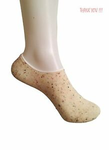 Women/'s Clothing 3//6 Pairs Plain Footsie Invisible Qualified Socks Babet UK 4-7