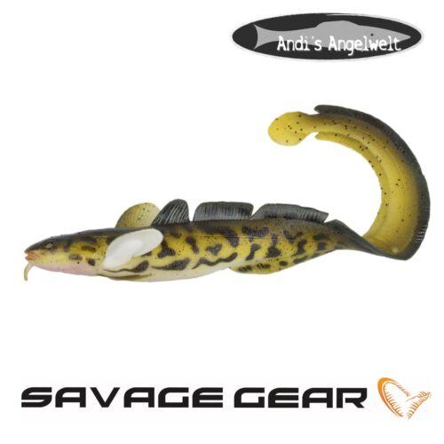 Hechtköder verschiedene Größen und Farben Savage Gear 3D Burbot//Quappe