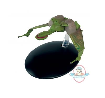 STAR TREK EAGLEMOSS STARSHIPS COLLECTION #107 KLINGON BIRD OF PREY ATTACK