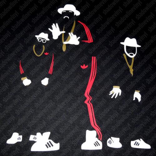 RUN DMC T-Shirt JMJ Retro Vintage Art Old School Rap Hip Hop Rev King Of Rock