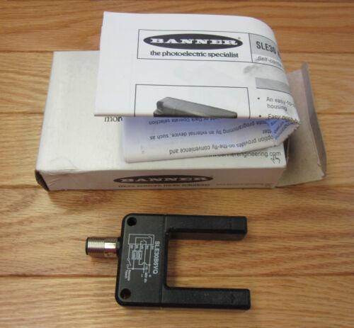 Banner SLE30B6VQ 30 mm slot Fork Sensor NEW