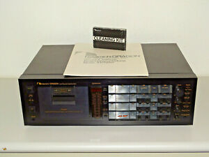 Nakamichi-Dragon-high-end-tape-cubierta-con-revision-general-con-instrucciones-2j-garantia