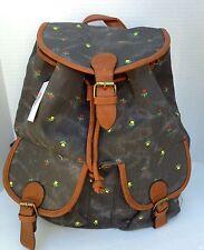 Fashion Women Girl Vintage Cute Flower Floral Bag Bookbag Backpack-RY-W081-FH480