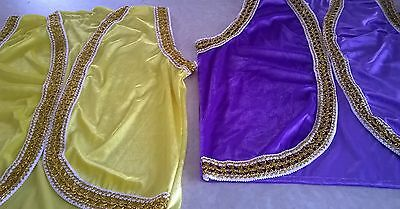 10 Aladdin Waistcoats For Children For School Play/ Pantomimes