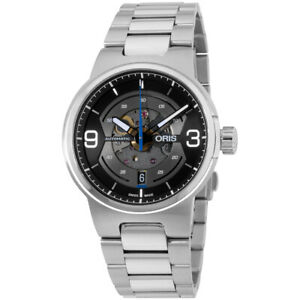 Oris-Williams-Engine-Date-Automatic-Men-039-s-Watch-01-733-7716-4164-07-8-24-50