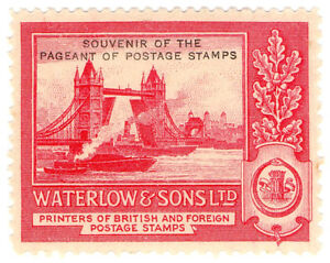 I-B-Cinderella-Waterlow-amp-Sons-Ltd-Stamp-Essay-Pool-of-London