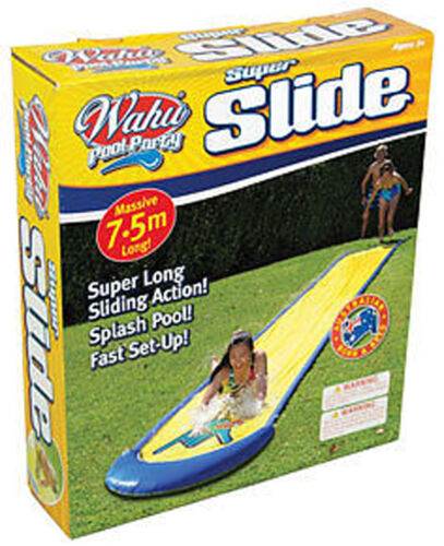 NEW WAHU BMA639 SINGLE LANE Sliding Surface SUPER Water Slide 7.5m Long