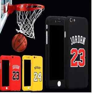 NBA-Apple-iPhone-6-6S-7-6Plus-7Plus-360-Case-Cover-Jordan-Bryant-Temper-Glass