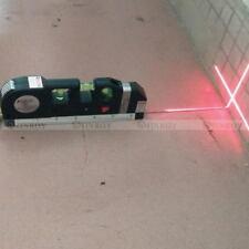 Multipurpose Laser Level Vertical Horizon Measuring Tape Aligner Ruler