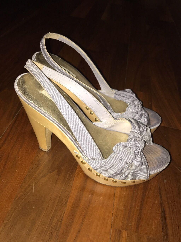 Miu miu 2.5, wooden heels, Größe 2.5, miu 35.5 7f68af