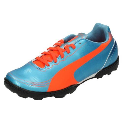 Boys Junior Puma Astro Turf Football Trainers /'Evo Speed 5.2 TT JR/'