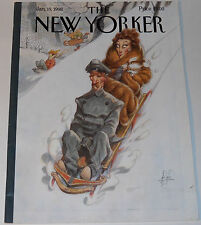 New Yorker Magazine January 19 1998 Through The Park James by Peter de Seve