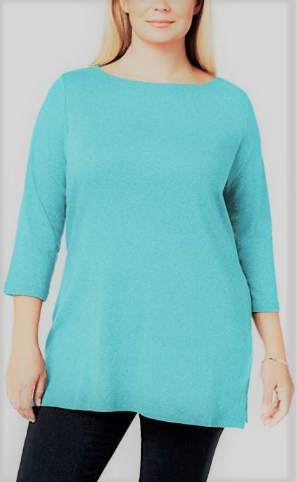 Y1930 Women/'s Asymmetrical Knit Topblue jackethigh neck tunic dresscotton t-shirtplus size oversized  casual  customized  Maternity