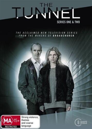 1 of 1 - The Tunnel : Series 1-2 (DVD, 2016, 6-Disc Set) (Region 4) Aussie Release