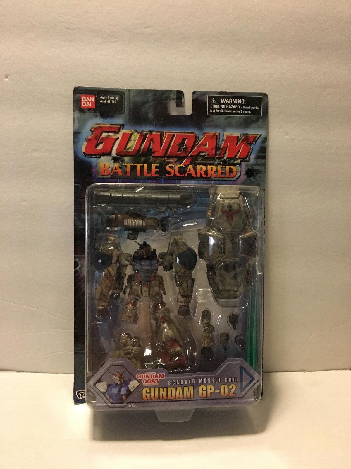 Mobile Suit GUNDAM  Battle Scarred  GP-02   Bandai