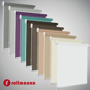 Estor-enrollable-Modern-luz-permeable-persiana-persiana-ventana-klemmfix-sin-taladrar