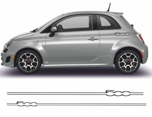 Fiat-500-Autocollants-bandes-kit-stickers-decoration-adhesif-autocollant-decal