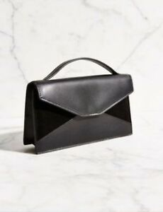 Image is loading urban-outfitters-Silent-amp-Noise-Black-purse-suede- a930256e0caa6