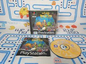 La Tierra antes de tiempo de retorno a la gran valle Playstation 1 PS1 PAL Juego