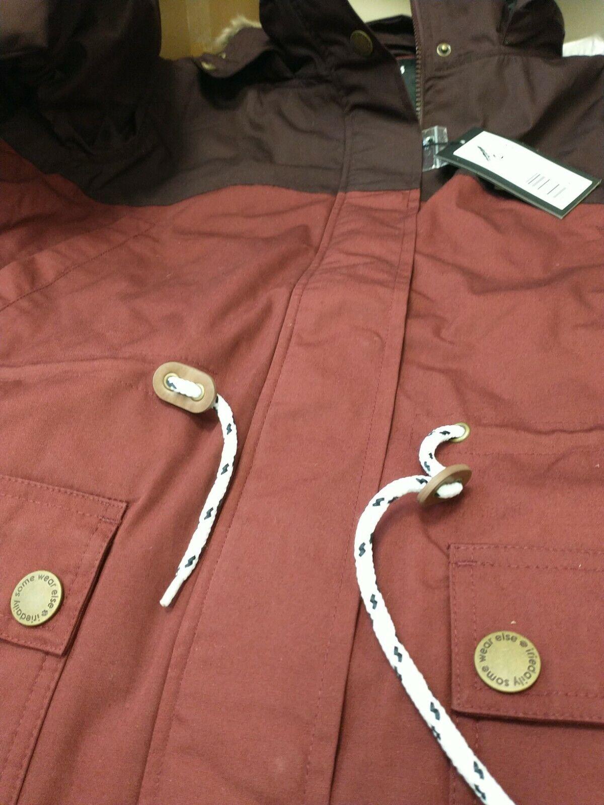 Iriedaily Koerte Jacket. Maroon XL(42_44