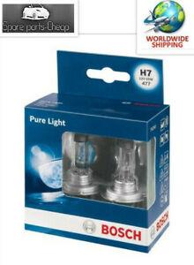BOSCH-Pure-Light-Headlight-Bulb-477-H7-12V-TWIN-PACK