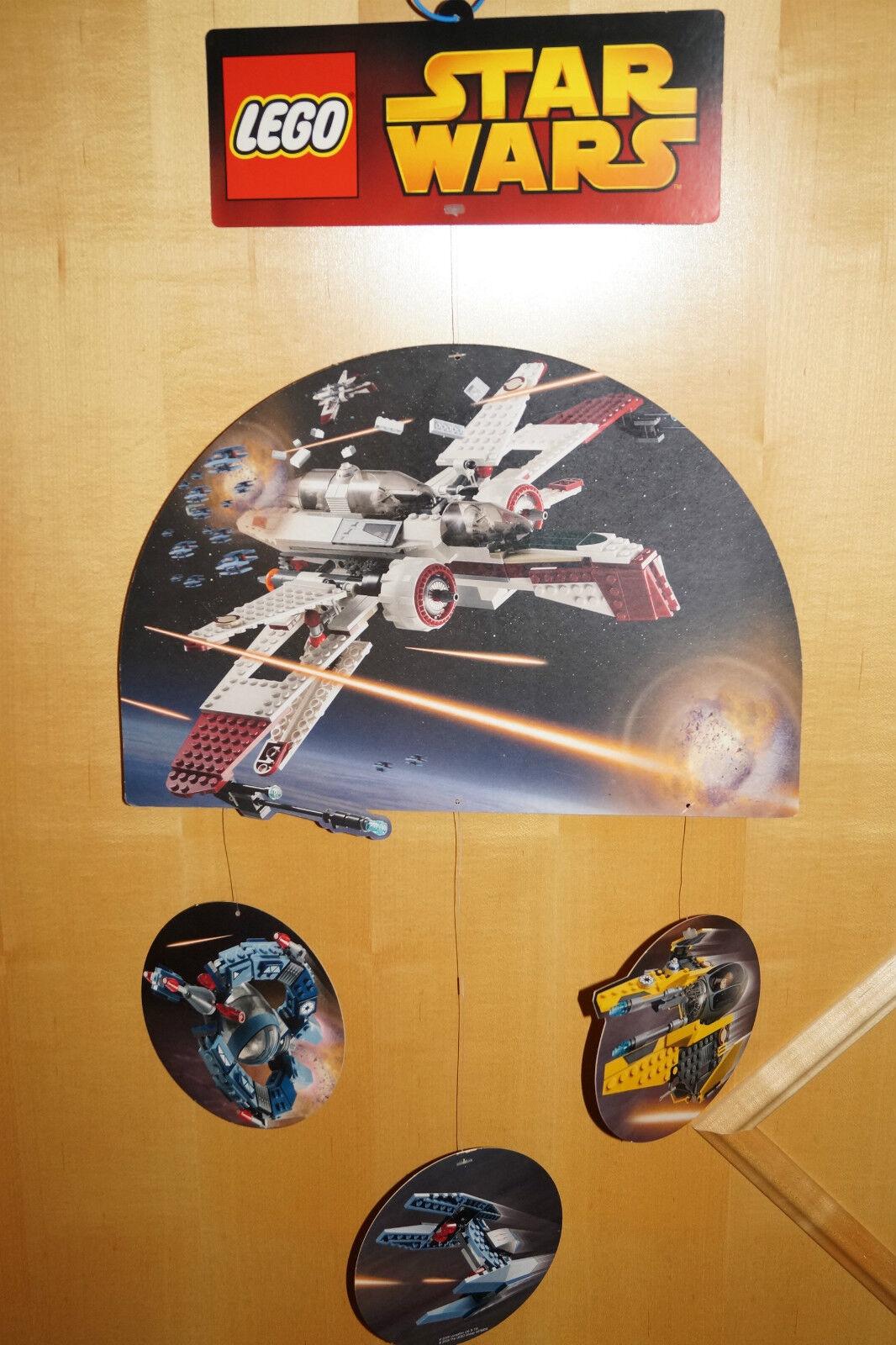 LEGO Star Wars di cartone pubblicitario laccio Pubblicità 2005