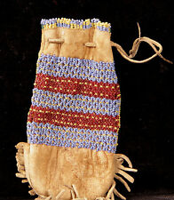 """Great Basin Small Beaded Pouch c. 1900 5"""" x 2 1/2"""""""