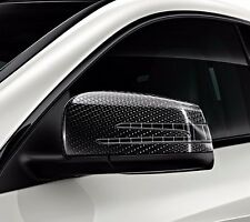 OEM GENUINE MERCEDES BENZ BLACK EXTERIOR MIRROR HOUSINGS 14-UP CLA 15-UP GLA