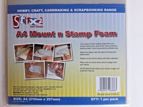 Cut your chosen shape from the Sheet Stix2 A4 Mount n Stamp Foam