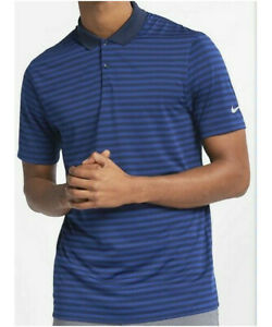 new arrival dc59a 138ee Image is loading Mens-Nike-Golf-Victory-Stripe-DRI-FIT-Polo-