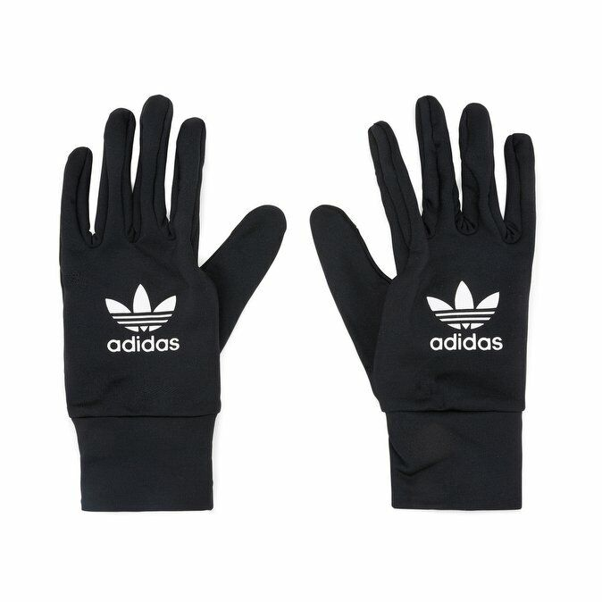 NEW WITH TAGS ADIDAS TECHY SOLID SKI EDGE GLOVES MEN BLACK CASUAL WINTER