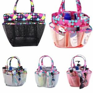 Cosmetic-Toiletry-Bag-Mesh-Travel-Case-Woman-Makeup-Pouch-Wash-Storage-Organizer