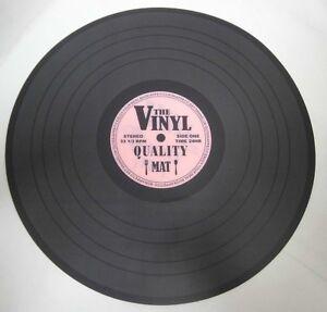 Tischset-Oldie-Schallplatte-Platzset-The-Vinyl-2-Untersetzer-Durchmesser-39-cm