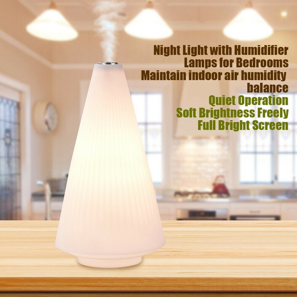 Image 4 - Desk Bedside Lamp Night Light Humidifier Soft Warm Bright Lighting Smart Touch