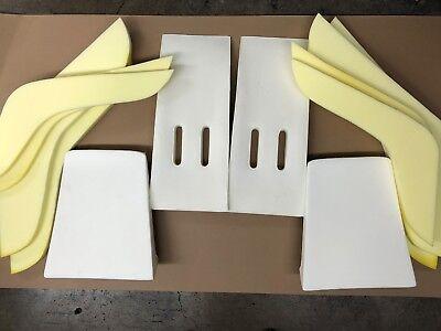 PORSCHE 356 SPEEDSTER FRONT SEAT PADS COMPLETE 2 SEATS
