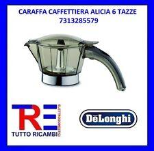 CARAFFA CAFFETTIERA ALICIA 6 TAZZE DE LONGHI ORIGINALE 7313285579