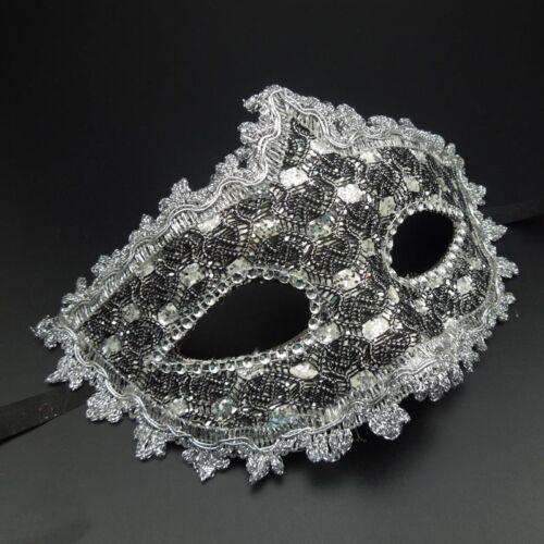 Venetian Rose Masquerade Ball Princess Mask Party Prom Fancy Dress Halloween