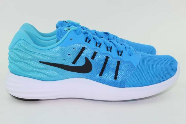 NIKE LUNARSTELOS WOMAN SIZE 6.5 NEW GAMMA blueE RUNNING COMFORTABLE